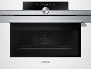 Siemens cm633gbw1Four électrique/45l/micro-ondes intégrée/Blanc