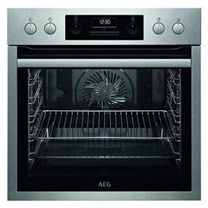 AEG EEB331000M Plaque de cuisson encastrée avec horloge