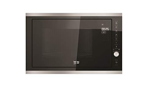 Beko – MGB25333X – Micro-ondes encastrable – Fonction Grill – 25 L – 900 W