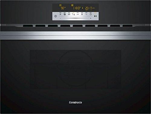 Constructa cc4W91860aktbac Four compacte avec micro-ondes encastrable/Verre