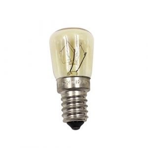 Garciaria Lampe à Vapeur de Four E14-25w Haute température 300 ° c Machine à Pain Jaune Ampoule au tungstène AC220-240V (Couleur: Jaune)