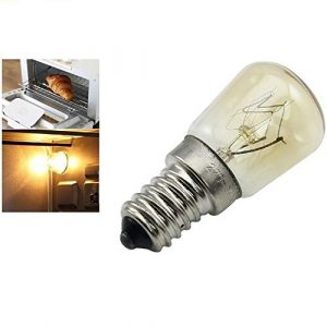 HOBFUUK Ampoule à Vapeur pour Four E14-25 W Haute température 300 °C Jaune AC220-240 V