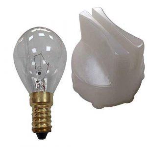 Outil de retrait de lentille de four compatible Bosch/Neff avec lampe 40 W SES/E14
