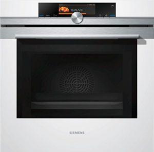 Siemens hn678g4W1iQ700Four électrique/67l/micro-ondes intégrée/Blanc