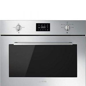 Smeg SF4400MX micro-onde Intégré – Micro-ondes (Intégré, Micro-ondes grill, 32 L, 1000 W, Rotatif, Tactil, Acier inoxydable)