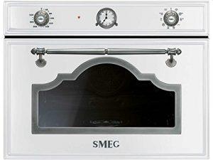 Smeg sf4750vcbs Compact Vapeur Blanc de Vapeur Four à vapeur Four 41L