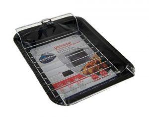 sont + Protect 35602000 Poêle à rôtir universelle et grille avec la grille, il permet une cuisson légère et saine sans compromettre les résultats de cuisson.