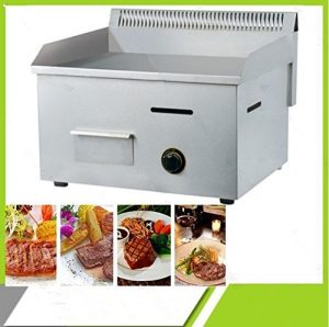 Top inoxydable Steelgas Hot Plateteppanyaki machine Luxe GPL gaz de cuisine plaque de cuisson et grill