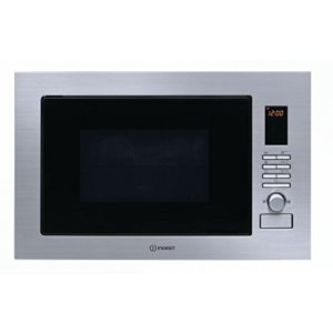 Indesit Four micro-ondes Encastrable combiné grill 25l 900W 60cm inoxydable MWI 222.2x