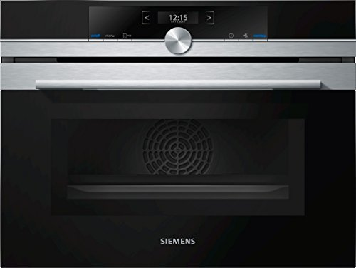 Micro ondes Combiné Encastrable Siemens CM633GBS1 – Micro-Ondes + Grill Intégrable Inox – 45 litres – 900 W