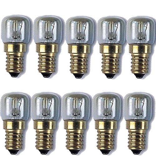 10x Sel de l'himalaya lampe ampoule 15W E14Ampoules Pygmy Appliance