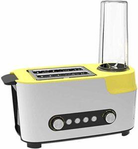Entièrement automatique multifonctions Petit déjeuner Grille-pain Machine à jus Machine Sandwich bouteille à vide Conservation pendant 12 heures, recto-verso rapide cuisson Toast lxhff KaiKai