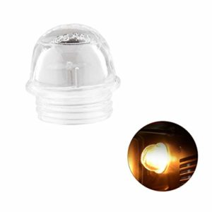 FanciBuy Couvercle en verre pour ampoule de four Bosch, Baumatic, Smeg, Belling, Cannon, Caple, Cuisina, Creda, Homark, Hotpoint, Indesit, Siemens et plus