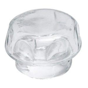 Ignis Couvercle de la lampe de cuisson arrière en verre pour ampoule de four