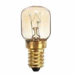 Weichunya 25W Ses E14 Haute qualité pygmée Visser Ampoule for Réfrigérateur Micro-Onde Four 5pcs