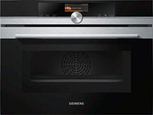 Siemens cm636gns1iQ700Four électrique/45l/Inox/micro-ondes intégrée/4D Air Chaud