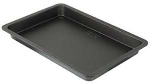 Zenker 7226 Special Cooking Plat à Four et de Grille Émail Noir 42 x 29 x 4 cm