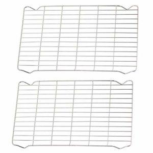 Spares2go Grille grille grille grille grille grille grille grille compatible avec les cuisinières AGA 8516 110 DF NG FSD Fleurs sauvages (215 x 365 mm, Lot de 2)