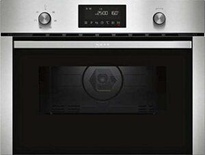 NEFF C1CMG84N0 Four compact encastrable avec micro-ondes N50 / 45,4 x 59,4 x 57,0 cm (H x l x P) / 44 L/Acier inoxydable/Grill / 15 programmes automatiques