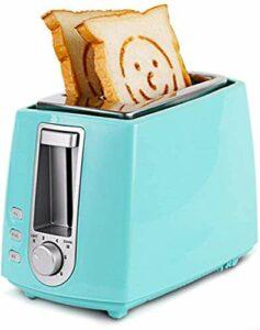 Pain électrique machine en acier inoxydable Grille-pain automatiquesMachines multifonctions de cuisson Grill 2 Petit déjeuner Maker Sandwich Toast machine à pain Four tranche, a, b 8bayfa