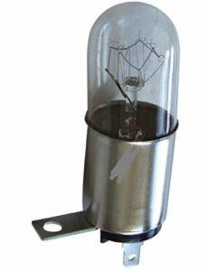 ampoule base C avec crochet pour micro-onde et four 20w 240v 300 degrés longueur 7cm