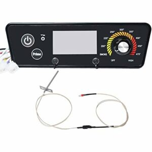 Cimoto Remplacement de la Carte de Commande pour Pitboss, Carte de Contr?Leur de Thermostat NuméRique Compatible pour Les Grilles de Four à Bois P7-340