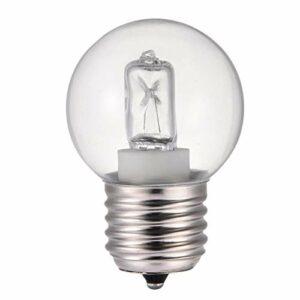 VENTDOUCE Ampoules de Four 2 pièces, Ampoules de Remplacement d'appareil de 40 Watts, Ampoule à Incandescence pour Appareil E26 / E27 prise-400 lumens, Ampoule de Four, Ampoule de réfrigérateur