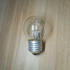 Ampoule de four 230V 220V E27 adaptable Ampoule haute température Éclairage du four Ampoule de four 500 degrés E27