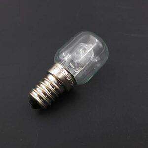 Meter Star Micro-ondes E14 Bouche d'escargot haute température 500 degrés 25 W Lumière jaune chaude, ampoules halogènes tungstène, ampoules à quartz