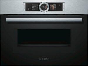 Bosch cmg676bs1série 8Verre spécial four et/Mini Four/45l/de porte intérieure pour micro-ondes/Acier inoxydable