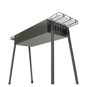 YNLRY Ensemble complet de grille de barbecue en carbone épais et durable (couleur : A, taille : 70 x 35 x 74)