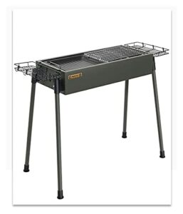 YNLRY Ensemble complet de grille de barbecue en carbone épais et durable (couleur : B, taille : 70 x 35 x 74)