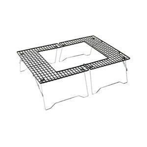 YNLRY Grille de barbecue portable en acier inoxydable pour extérieur et ménage (couleur : 6, taille : 57 x 47 x 60)
