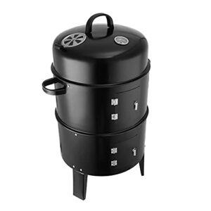 YNLRY Gr009 Grille de barbecue multicouche à charbon de bois, réchaud à bacon portatif et réglable