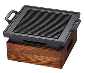LYB Table de barbecue portable pour barbecue, grille de barbecue, rôti, four non collant, plat commercial, hôtel, restaurant, maison, pique-nique en plein air