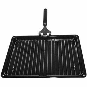 SPARES2GO Ensemble de poêles à griller compatibles avec les cuisinières électriques (366 mm x 293 mm).