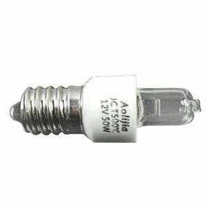 LOPADE 12V 50W Lumière du Four Ampoule Four Lampe Spéciale Four,Special Oven Ampoule Lumiere Résistant jusqu'à 500 C pour Au Four/Four à Micro-Ondes/Réfrigérateur