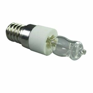 yahede W E14 Oven Light 110V 220V Haute Température 500 Lampe Halogène SècheLinge Ampoule À MicroOndes Show Well-Liked